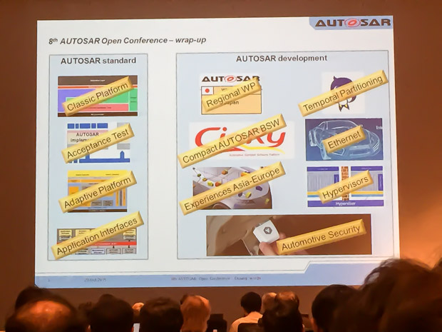 AUTOSAR Open Conference講演様子4